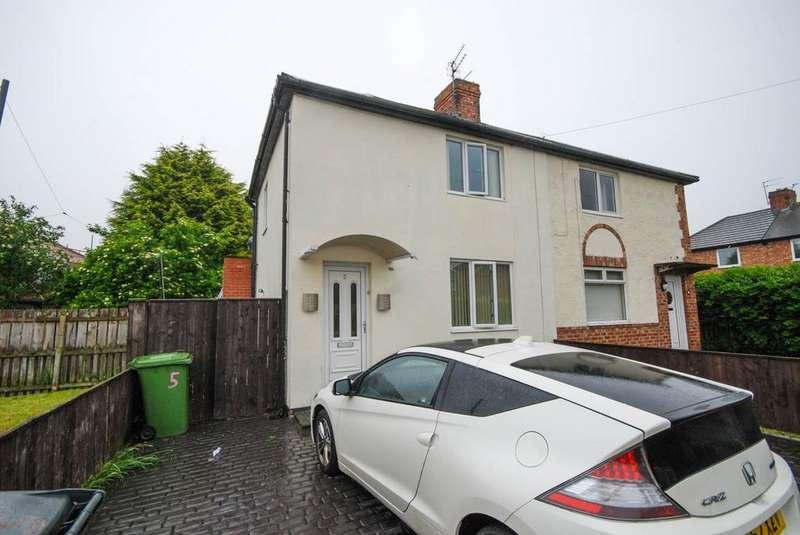 2 Bedrooms Semi Detached House for sale in Blenkinsop Grove, Jarrow