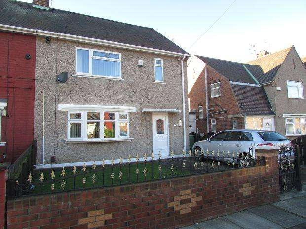 3 Bedrooms Semi Detached House for sale in JUTLAND ROAD, HARTLEPOOL, HARTLEPOOL