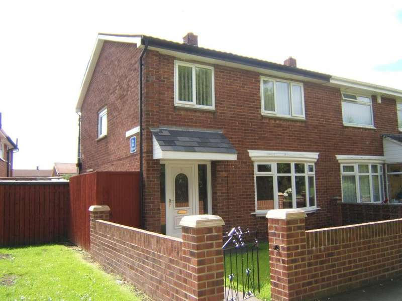 3 Bedrooms Semi Detached House for sale in Lewis Gardens, South Shields