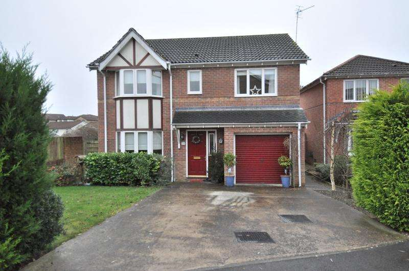 4 Bedrooms Detached House for sale in 26 Heol Corswigen, Pencoedtre Village, Barry, The Vale Of Glamorgan. CF63 1AS