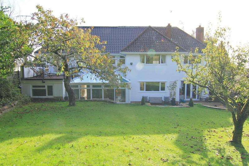 5 Bedrooms Detached House for sale in Awelon, Pen-Y-Turnpike Road, Dinas Powys, Vale of Glam. CF64 4HG