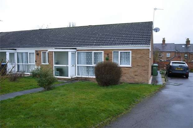 1 Bedroom Terraced Bungalow for sale in Crossleys, Fleckney, Leicester