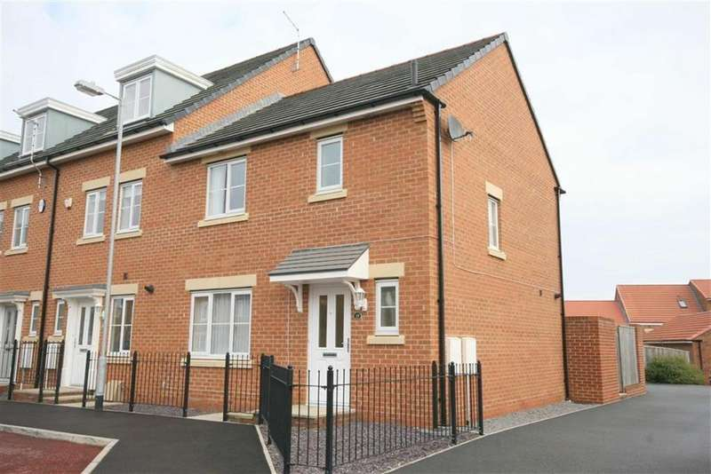 3 Bedrooms Semi Detached House for sale in Capheaton Way, Seaton Delaval, Tyne Wear, NE25
