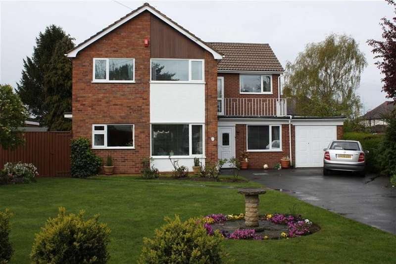 5 Bedrooms Detached House for sale in Chestnut Close, Shrewsbury, Shrewsbury