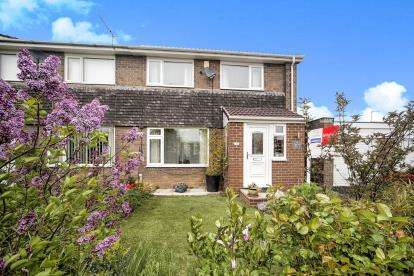 2 Bedrooms Semi Detached House for sale in Twizell Place, Ponteland, Newcastle Upon Tyne, Northumberland, NE20
