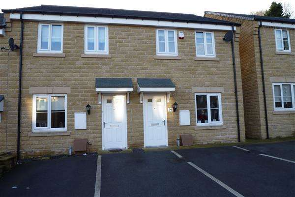 2 Bedrooms Town House for sale in Mill View, Milnsbridge, Huddersfield