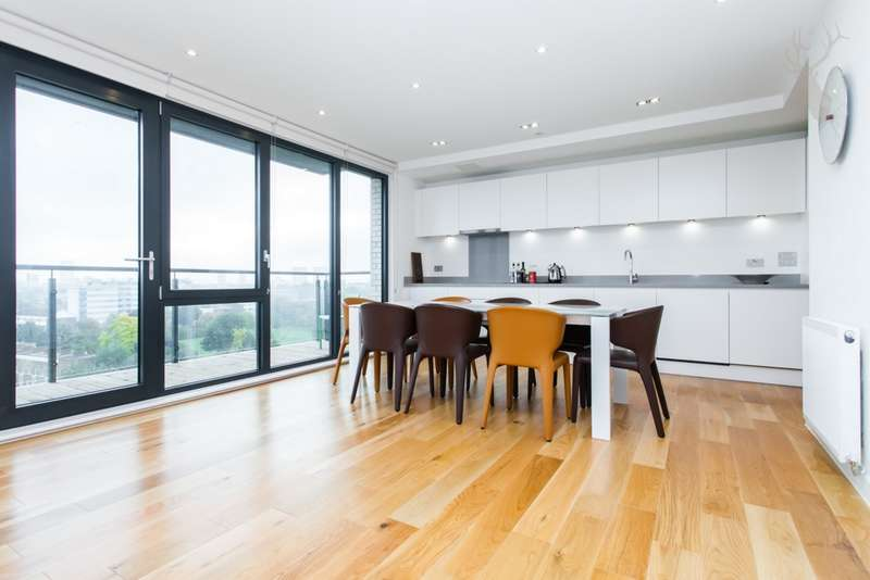 3 Bedrooms Flat for sale in Graphite Point, Palmers Road, Bethnal Green, E2
