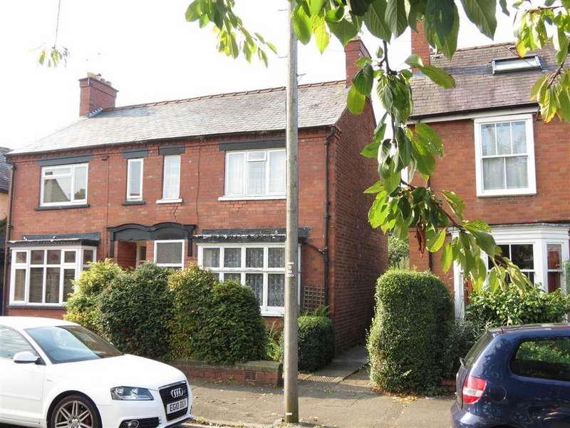 3 Bedrooms Semi Detached House for sale in Ashley Street, Cherry Orchard, Shrewsbury, Shropshire