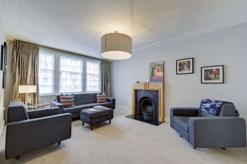 3 Bedrooms Apartment Flat for sale in Gloucester Terrace, Bayswater