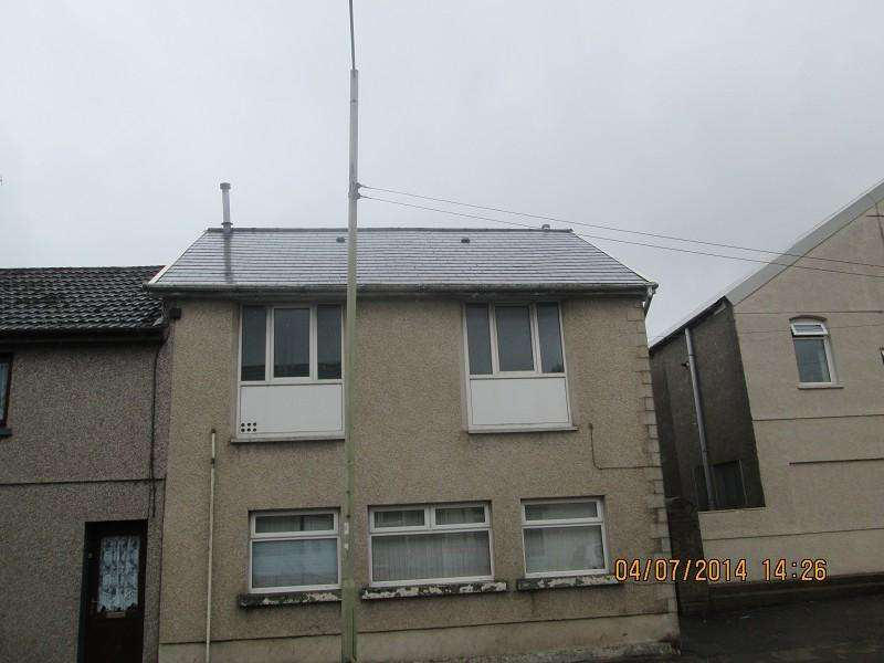 2 Bedrooms End Of Terrace House for sale in 59 A Castle Street, Ground Floor Flat, Maesteg, Bridgend. CF34 9YL