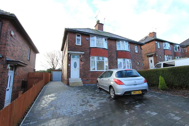 3 Bedrooms Semi Detached House for sale in Warminster Crescent, Norton Lees
