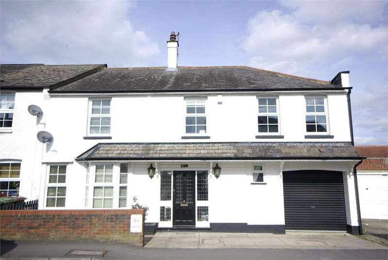 4 Bedrooms End Of Terrace House for sale in Herkomer Road, Bushey Village, Hertfordshire, WD23