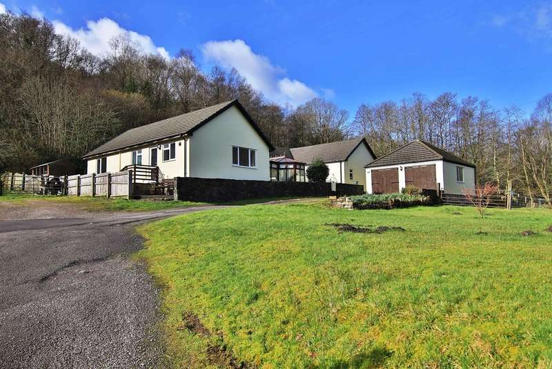 5 Bedrooms Detached Bungalow for sale in Barry Sidings Country Park, Trehafod, Pontypridd