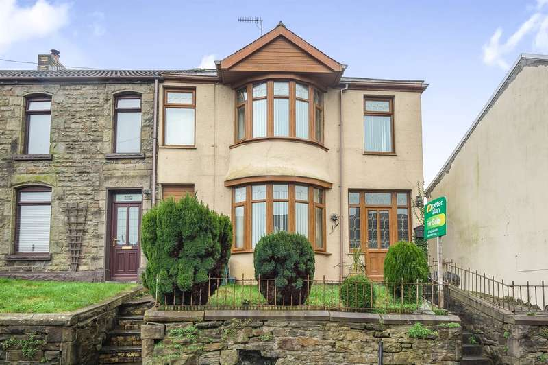 3 Bedrooms End Of Terrace House for sale in Siloh Road, Landore, Swansea