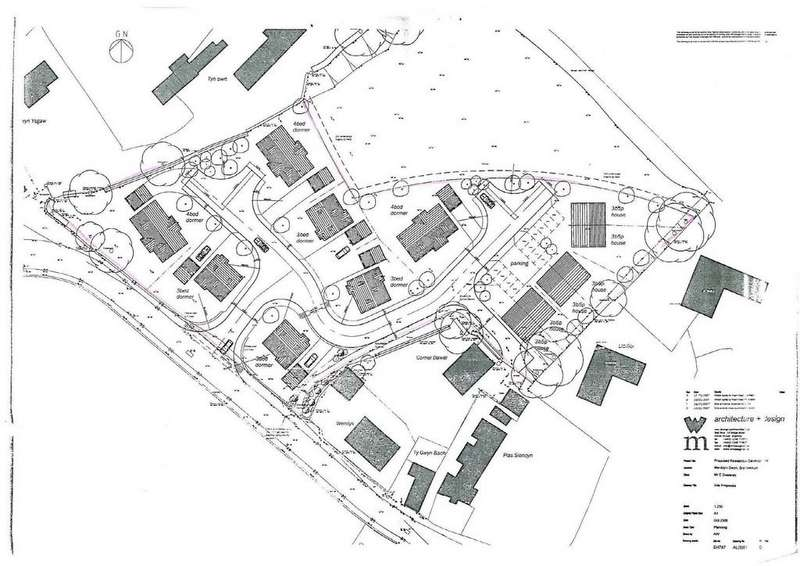 Land Commercial for sale in Brynsiencyn, Llanfairpwll, North Wales