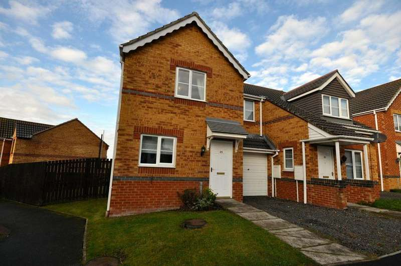 2 Bedrooms Semi Detached House for sale in Hevingham Close, Havelock Park, Sunderland