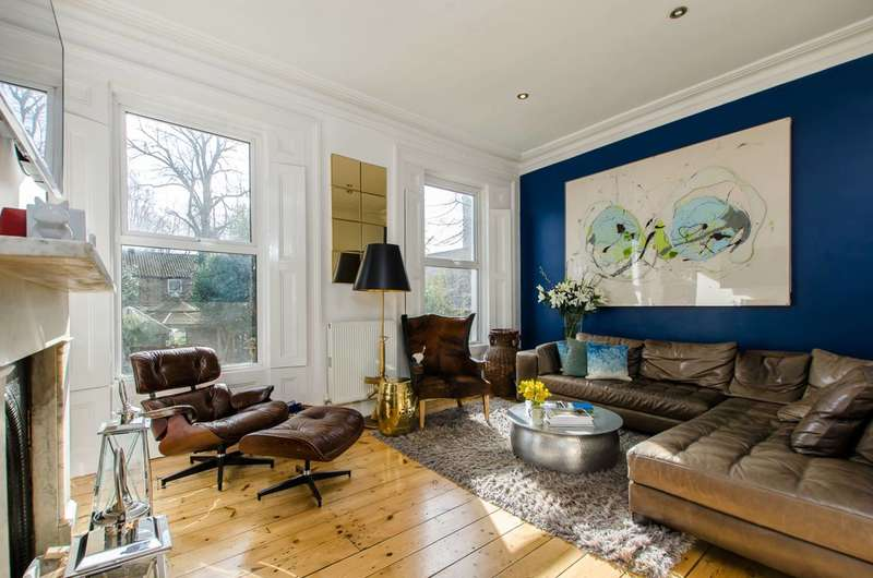 2 Bedrooms Flat for sale in Burnley Road, Stockwell, SW9