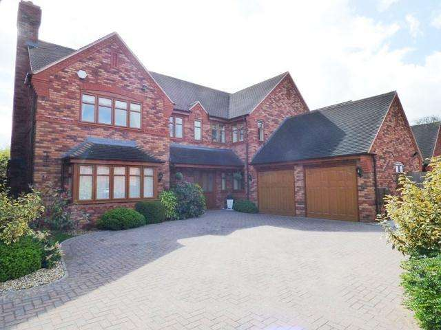 5 Bedrooms Detached House for sale in Godfrey Rise,Lichfield,Staffordshire