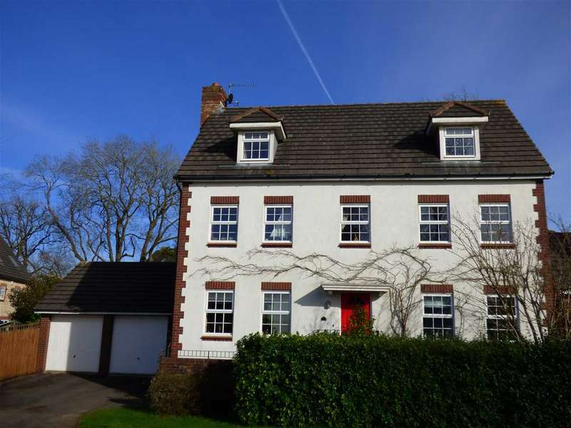 5 Bedrooms Detached House for sale in Manor Wood, Chepstow