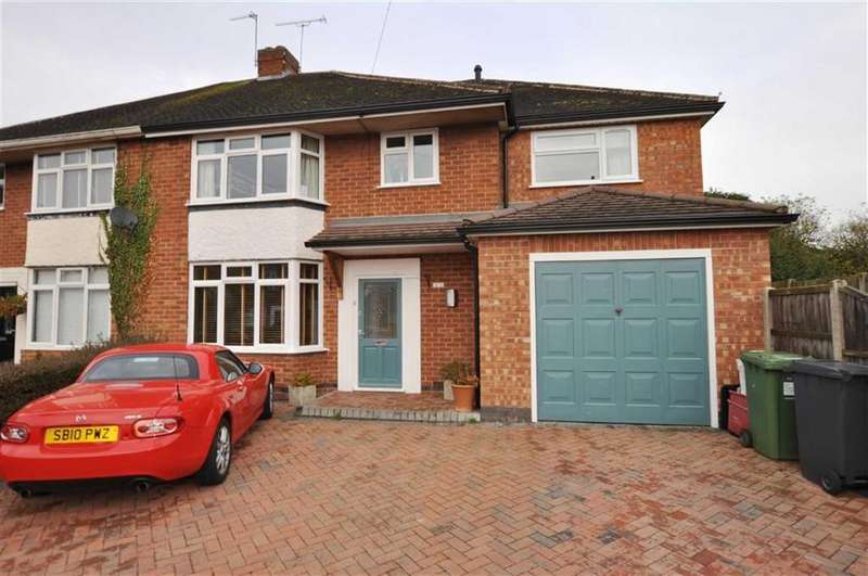 5 Bedrooms Semi Detached House for sale in Meadow Close, Leamington Spa