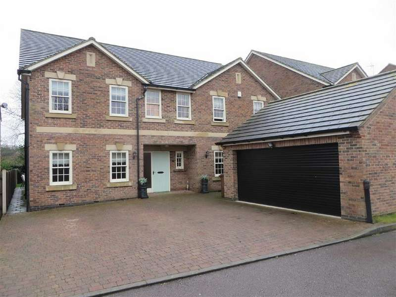 5 Bedrooms Detached House for sale in Choyce Close, Anstey