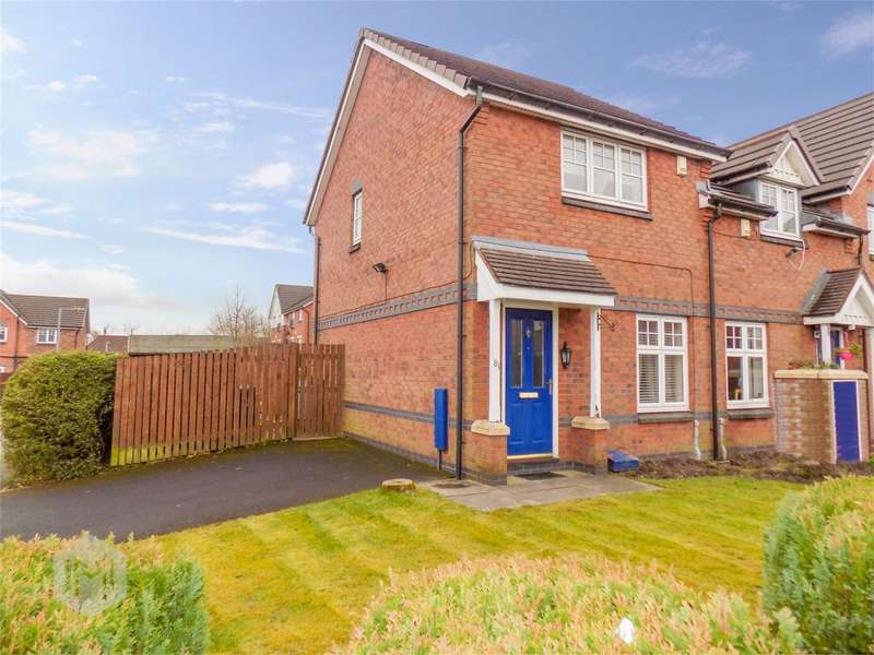 2 Bedrooms Semi Detached House for sale in Dixon Green Drive, Farnworth, Bolton, Lancashire
