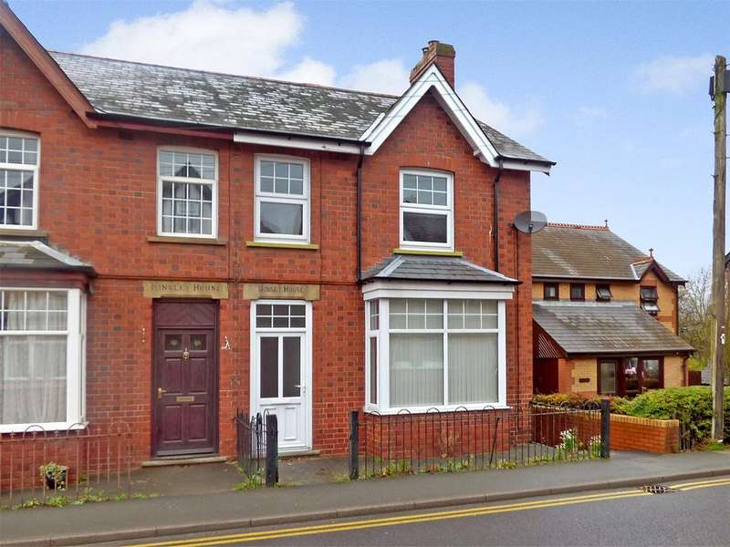 3 Bedrooms Semi Detached House for sale in Tremont Road, Llandrindod Wells, Powys