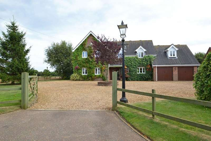 5 Bedrooms Detached House for sale in Sparham, Near Reepham, Norfolk