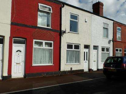 2 Bedrooms Terraced House for sale in Clifton Street, Warrington, Cheshire, WA4