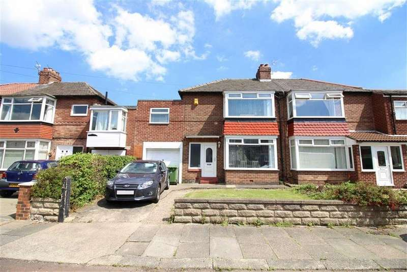 3 Bedrooms Semi Detached House for sale in Longridge Avenue, Newcastle Upon Tyne, NE7