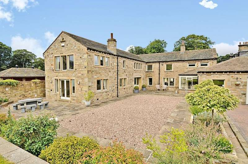 5 Bedrooms Farm House Character Property for sale in Shepley, Huddersfield
