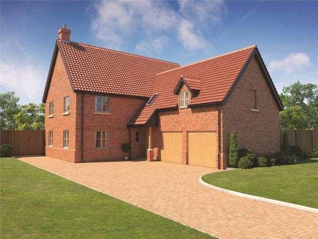 5 Bedrooms Detached House for sale in Kenninghall Road, East Harling, Norfolk