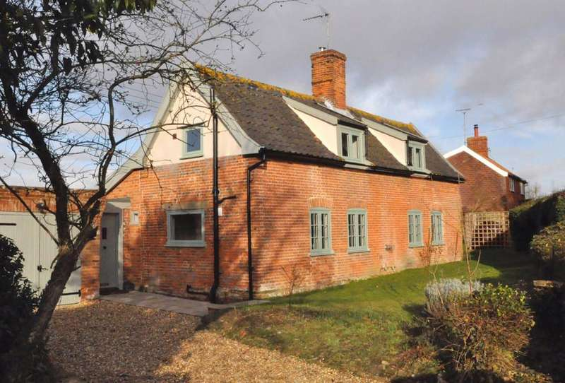 3 Bedrooms Cottage House for sale in Brussels Green, Darsham