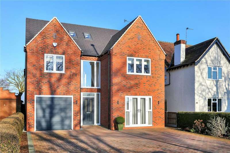 5 Bedrooms Detached House for sale in High Lane East, West Hallam, Ilkeston, Derbyshire