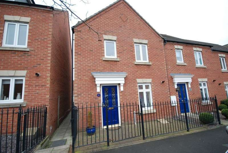 3 Bedrooms Terraced House for sale in Landfall Drive, Hebburn
