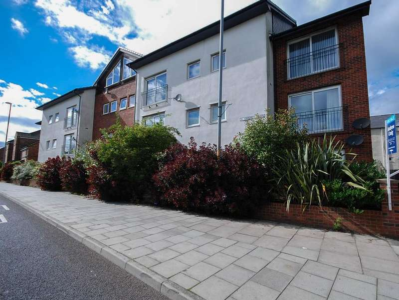 2 Bedrooms Flat for sale in Appletree Court, Gateshead