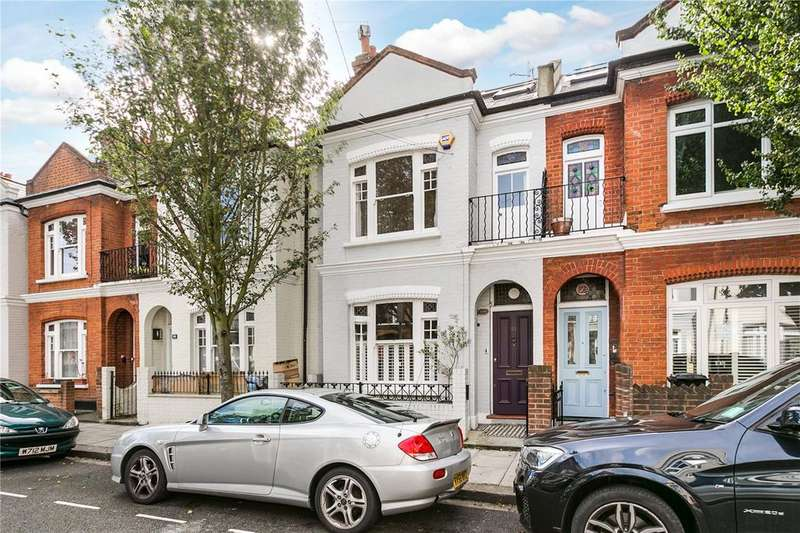 4 Bedrooms Terraced House for sale in Fabian Road, Fulham, London
