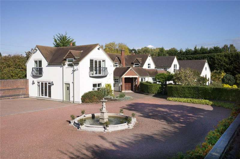 6 Bedrooms Detached House for sale in Bastonford, Powick, Worcester, Worcestershire, WR2