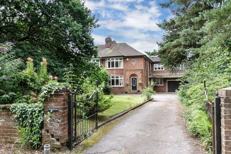 4 Bedrooms Semi Detached House for sale in Dalefords Lane, Whitegate