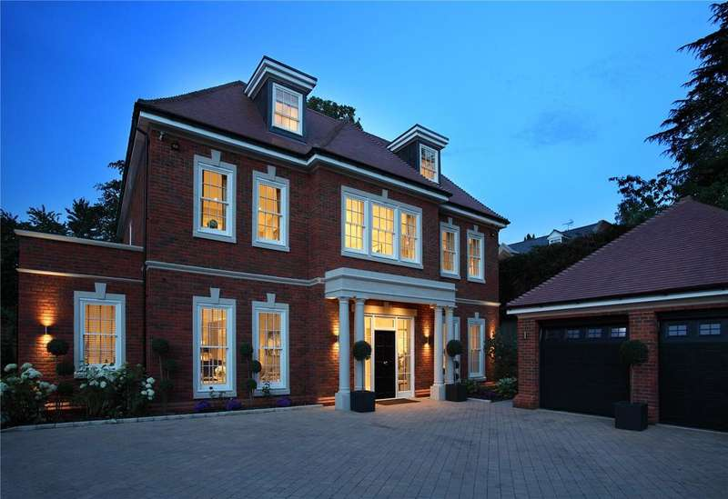 5 Bedrooms Detached House for sale in London Road, Ascot, Berkshire