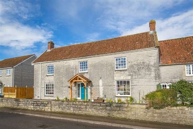 5 Bedrooms Semi Detached House for sale in Middle Leigh, Street
