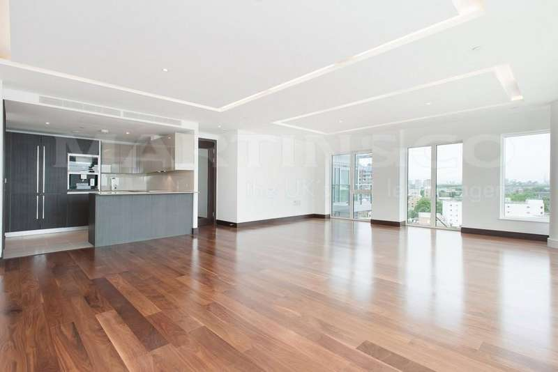 3 Bedrooms Apartment Flat for sale in Flotilla House, Battersea Reach