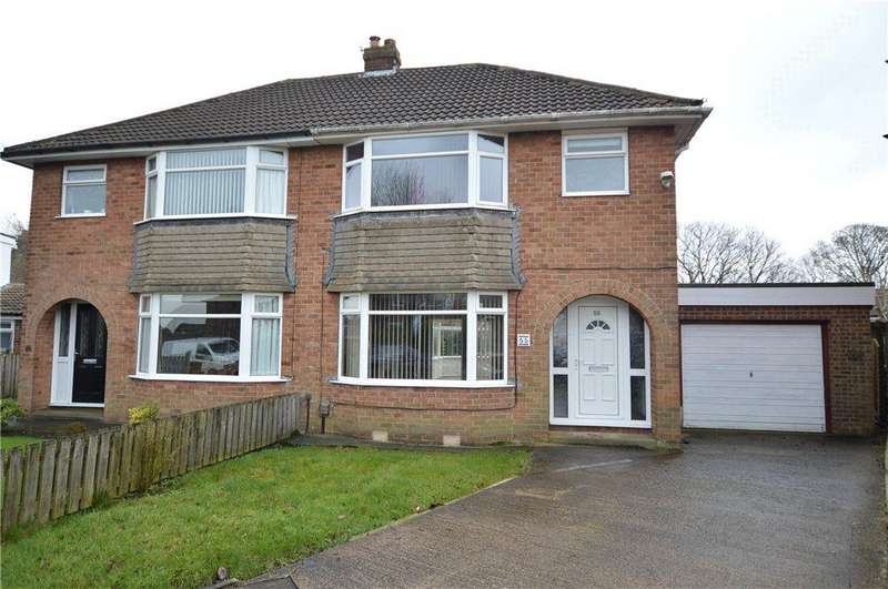 3 Bedrooms Semi Detached House for sale in Dean Park Drive, Drighlington, Bradford