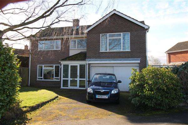 5 Bedrooms Detached House for sale in Burnell Close, Bidford On Avon, Alcester
