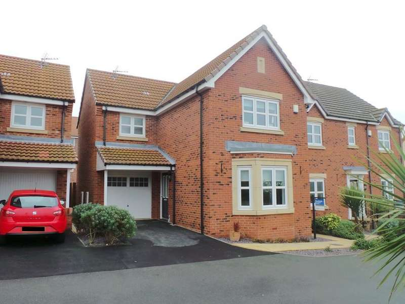 3 Bedrooms Detached House for sale in Plymouth Close, Gainsborough