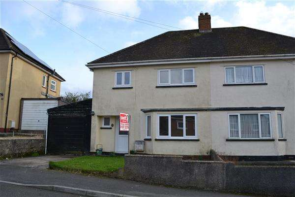 3 Bedrooms Semi Detached House for sale in Heol Rudd, Carmarthen