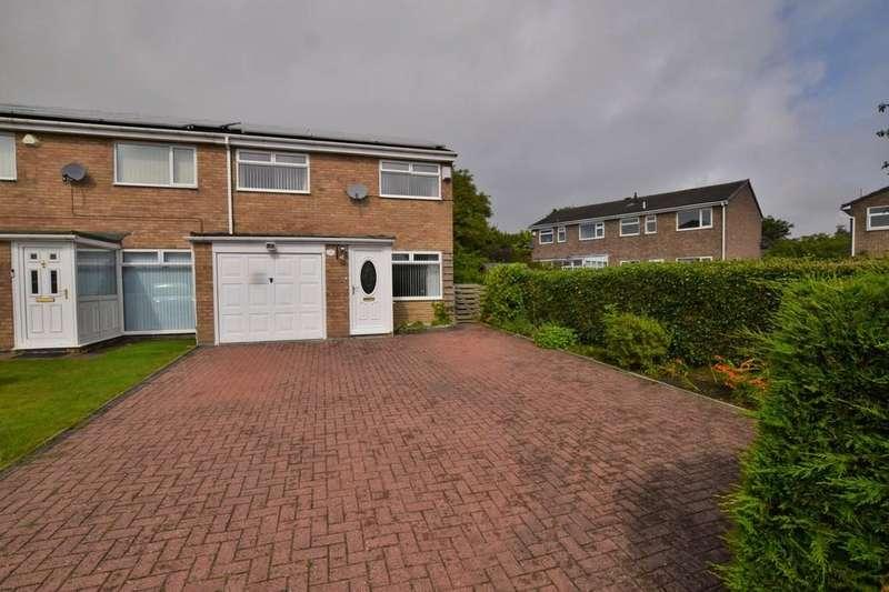 3 Bedrooms Semi Detached House for sale in Trefoil Road, Tanfield Lea, Stanley