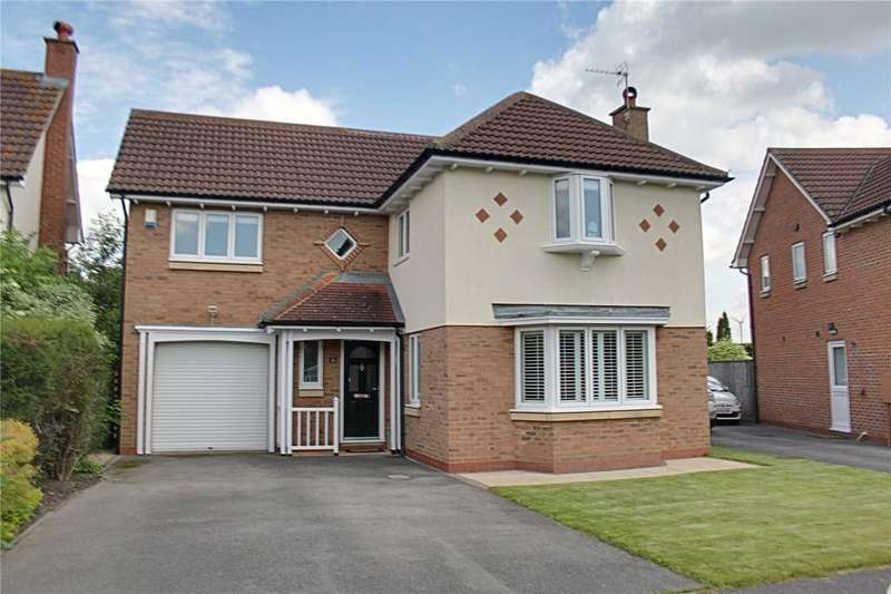 4 Bedrooms Detached House for sale in Moorberries, Hilton