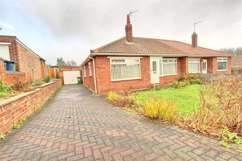 2 Bedrooms Semi Detached Bungalow for sale in South Park Avenue, Normanby