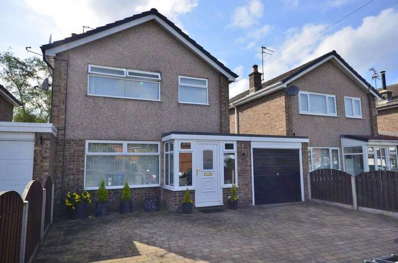 3 Bedrooms Link Detached House for sale in Redesmere Close, Timperley, Altrincham